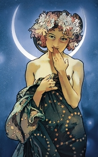 Notizblock - Buch Clair de Lune