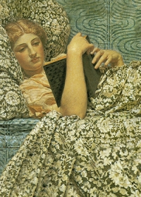 Notizbuch • Lesende Frau